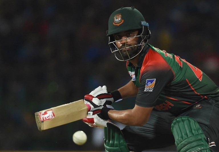 In the tricky run chase, opener Tamim Iqbal's (50 off 42 balls) knock along with useful contributions from the middle order brought Bangladesh close to the target.
