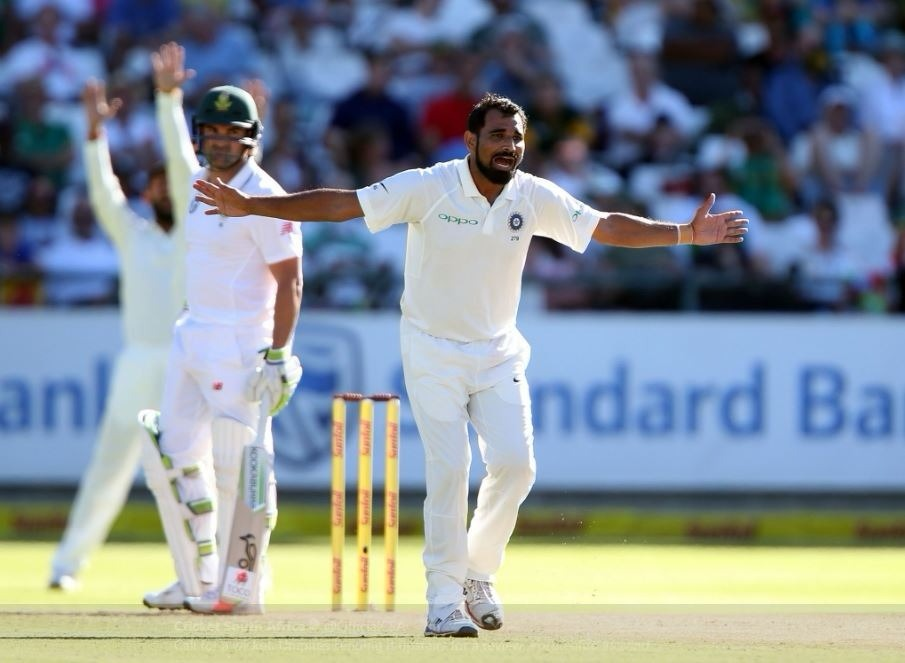 Haven't seen this type of wicket overseas: Shami