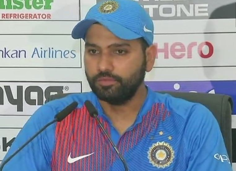 Rohit Sharma in the post Match press conference revealed that he missed out on the winning moments as he went into the dressing room to pad up for the Super Over.