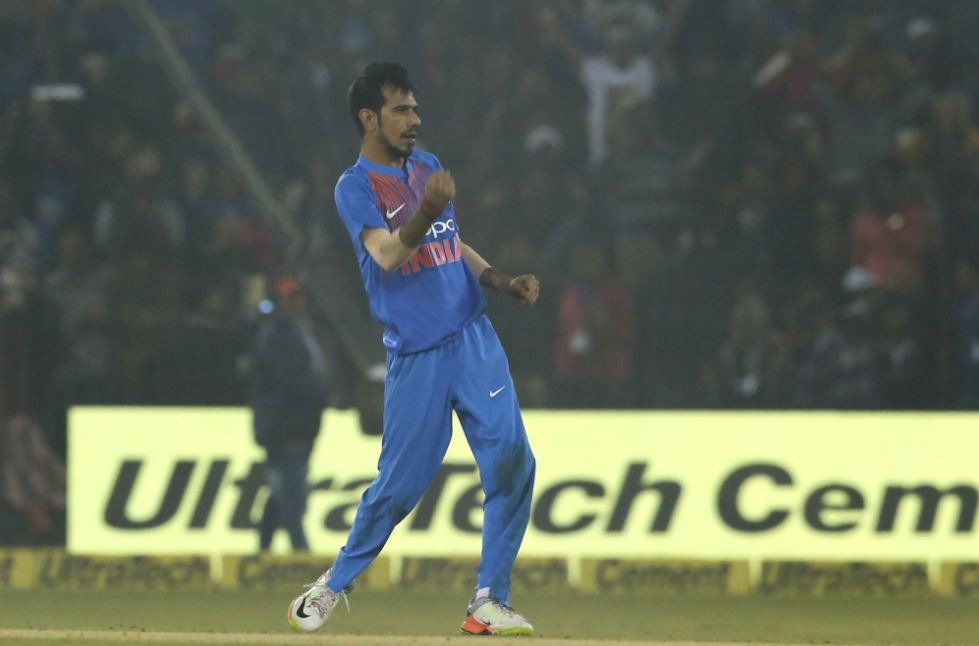 Leg-spinner Chahal now has a career-high 706 rating points to his name and is now the highest ranked Indian T20 bowler.