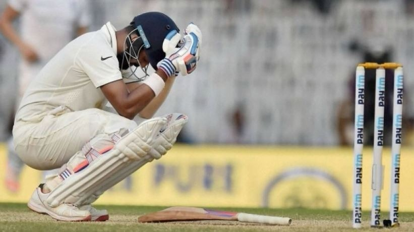 Rahul doubtful for third Test after getting hit on knees